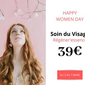 Offre pour la journée des Droits de la Femme