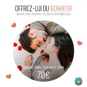 """Offrez-lui du bonheur et de la douceur """"Spécial Saint Valentin"""" du 01/02 au 28/02 2021"""